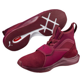Thumbnail 2 of Phenom Suede Women's Training Shoes, Cordovan-Cordovan, medium