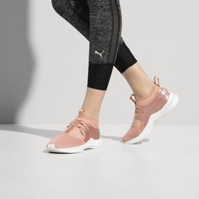 Thumbnail 6 of Phenom Satin Lo EP Women's Training Shoes, Peach Beige-Puma White, medium