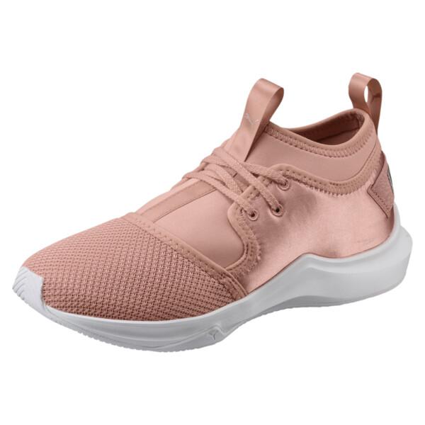 Phenom Satin Lo EP Women's Training Shoes, Peach Beige-Puma White, large