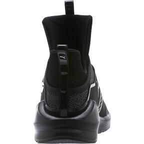Thumbnail 4 of Fierce Varsity Knit Women's Sneakers, Puma Black-Puma Black, medium