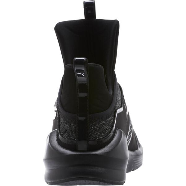 Fierce Varsity Knit Women's Sneakers, Puma Black-Puma Black, large