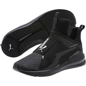 Thumbnail 2 of Fierce Varsity Knit Women's Sneakers, Puma Black-Puma Black, medium