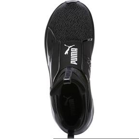 Thumbnail 5 of Fierce Varsity Knit Women's Sneakers, Puma Black-Puma Black, medium