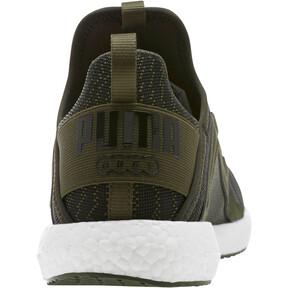 Thumbnail 4 of Mega NRGY Zebra Men's Running Shoes, Forest Night-Puma White, medium