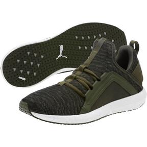 Thumbnail 2 of Mega NRGY Zebra Men's Running Shoes, Forest Night-Puma White, medium