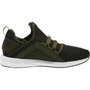 Thumbnail 3 of Mega NRGY Zebra Men's Running Shoes, Forest Night-Puma White, medium