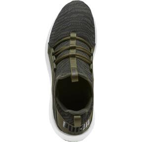 Thumbnail 5 of Mega NRGY Zebra Men's Running Shoes, Forest Night-Puma White, medium
