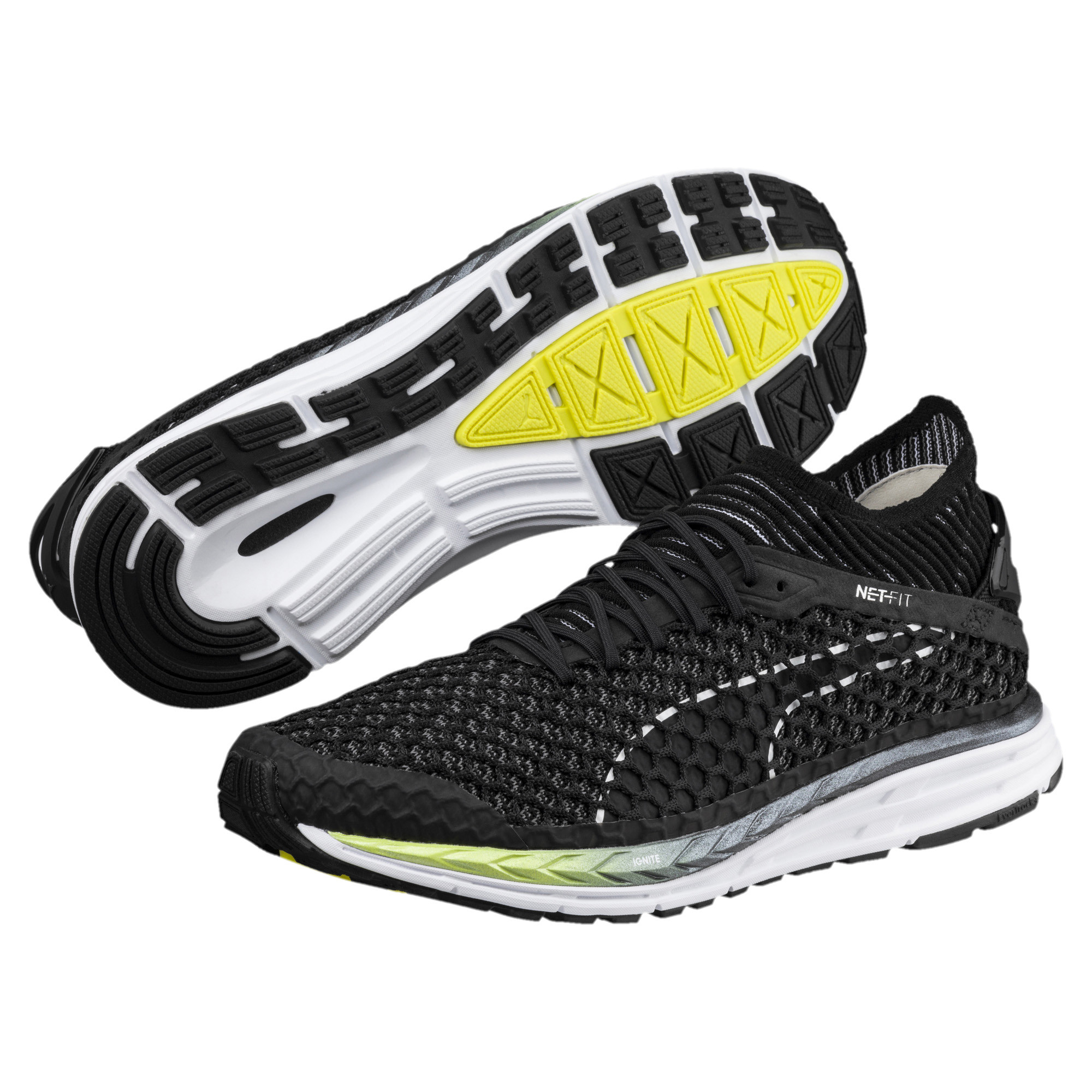 Image Puma Men's Speed IGNITE NETFIT 2 Running Shoes #2