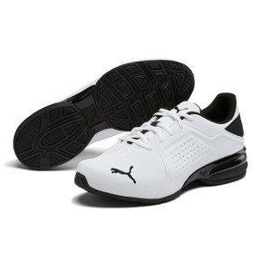 Thumbnail 2 of Viz Runner Men's Running Shoes, Puma White-Puma Black, medium