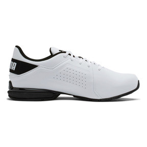 Thumbnail 5 of Viz Runner Men's Running Shoes, Puma White-Puma Black, medium
