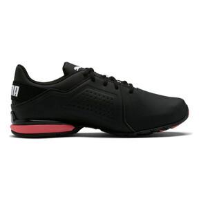 Thumbnail 5 of Viz Runner Men's Running Shoes, Puma Black-Puma White, medium