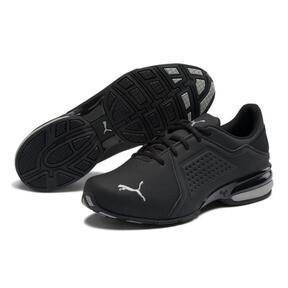 Thumbnail 2 of Viz Runner Men's Running Shoes, Puma Black-Puma Silver, medium