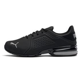 Thumbnail 1 of Viz Runner Men's Running Shoes, Puma Black-Puma Silver, medium