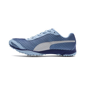 Thumbnail 1 of evoSPEED Haraka 5 Women's Track Spikes, CERULN-SodalteBlue-Slvr, medium