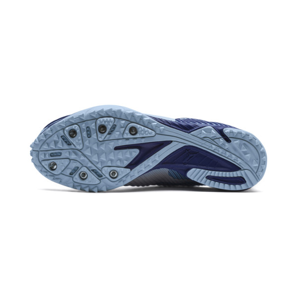 evoSPEED Haraka 5 Women's Track Spikes, CERULN-SodalteBlue-Slvr, large