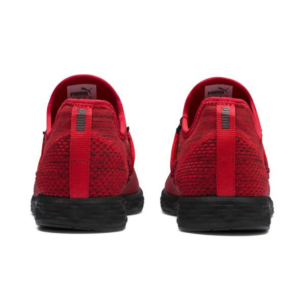 SPEED RACER Men's Running Shoes, High Risk Red-Black, large