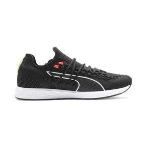 Thumbnail 6 of SPEED RACER Men's Running Shoes, Black-Nrgy Red-Yellow Alert, medium