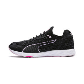 Thumbnail 1 of SPEED 300 RACER Women's Running Shoes, Black-WinsomeOrchid-KPINK, medium