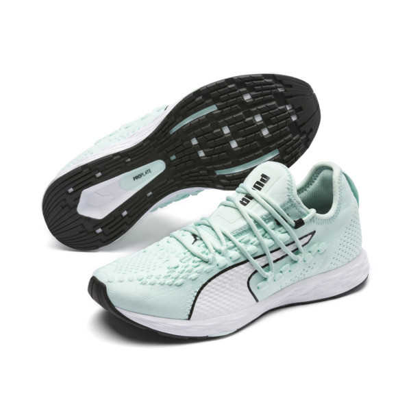 Zapatillas de running de mujer SPEED RACER, Fair Aqua-White-Black, grande