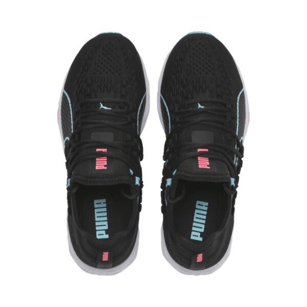 Chaussure de course SPEED RACER pour femme, Black-Milky Blue-Pink Alert, large