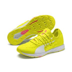 Thumbnail 3 of SPEED 300 RACER Women's Running Shoes, Yellow-White-Pink Alert, medium