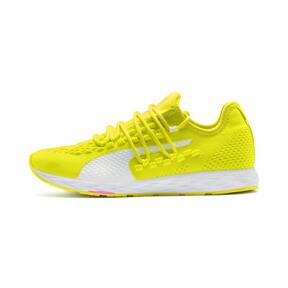 Thumbnail 1 of SPEED 300 RACER Women's Running Shoes, Yellow-White-Pink Alert, medium