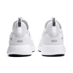 Thumbnail 3 of NRGY Neko Men's Running Shoes, Puma White-Puma White, medium