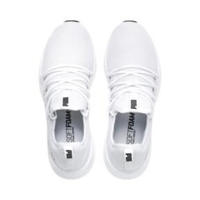 Thumbnail 6 of NRGY Neko Men's Running Shoes, Puma White-Puma White, medium