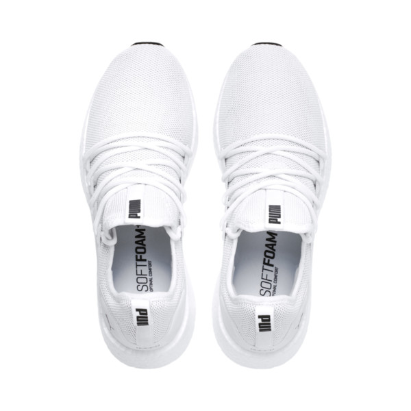 NRGY Neko Men's Running Shoes, Puma White-Puma White, large