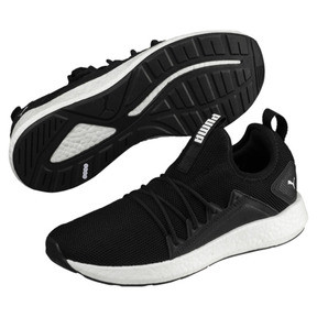 Thumbnail 2 of NRGY Neko Women's Running Shoes, Puma Black-Puma White, medium