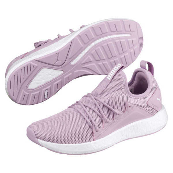 NRGY Neko Women's Sneakers, Winsome Orchid-Puma White, large