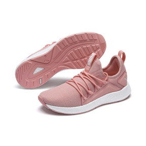 Thumbnail 2 of NRGY Neko Women's Running Shoes, Peach Bud-Puma White, medium