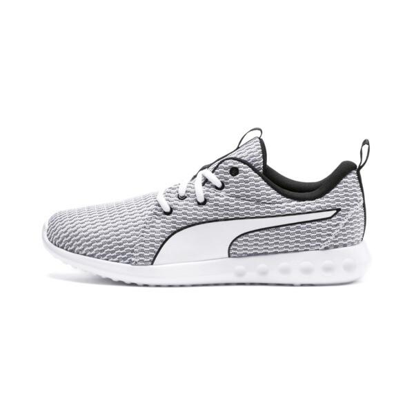 Carson 2 New Core Men's Running Shoes, White-White-Black, large