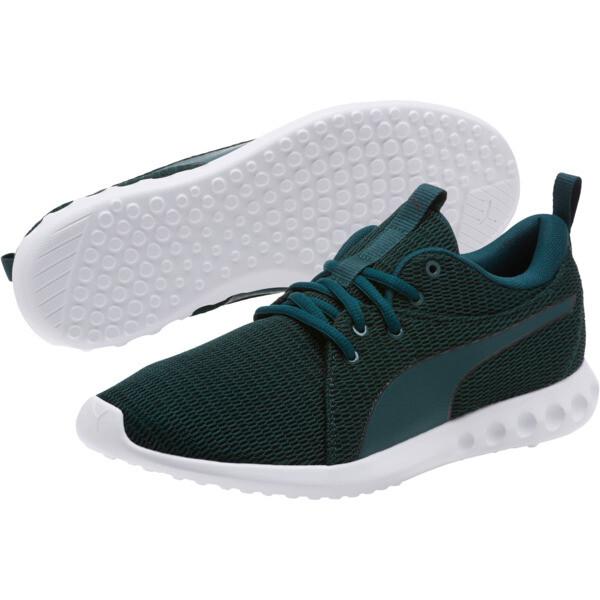 Carson 2 New Core Men's Running Shoes, Ponderosa Pine-Puma White, large