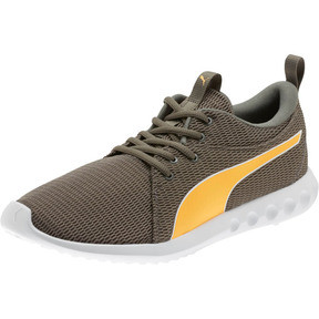 Thumbnail 1 of Carson 2 New Core Men's Running Shoes, Charcoal Gray-Orange Pop, medium
