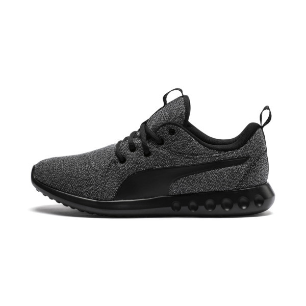 Carson 2 Knit Men's Training Shoes, Puma Black-Puma Black, large