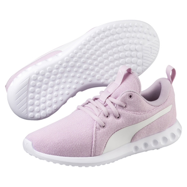 Carson 2 Knit Women's Running Shoes, Winsome Orchid-Puma White, large