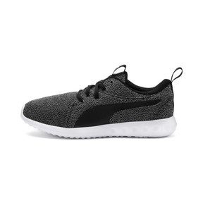 Thumbnail 1 of Carson 2 Knit Women's Running Shoes, Puma Black-Puma White, medium