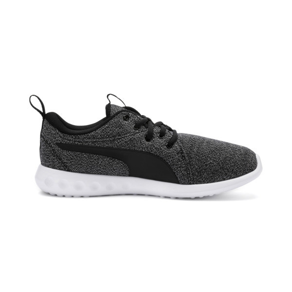 Carson 2 Knit Women's Running Shoes, Puma Black-Puma White, large