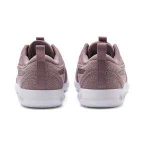 Thumbnail 4 of Carson 2 Knit Women's Running Shoes, Elderberry-Puma White, medium