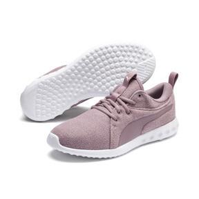 Thumbnail 2 of Carson 2 Knit Women's Running Shoes, Elderberry-Puma White, medium