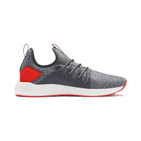 NRGY Neko Knit Men's Running Shoes, CASTLEROCK-Nrgy Red, large