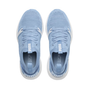 Thumbnail 6 of NRGY Neko Engineer Knit Women's Training Shoes, CERULEAN-Puma White, medium