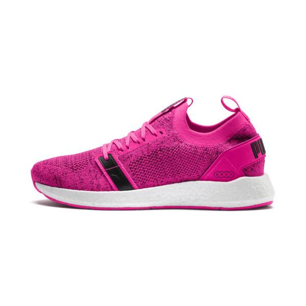 NRGY Neko Engineer Knit Women's Training Shoes, KNOCKOUT PINK-Puma Black, large