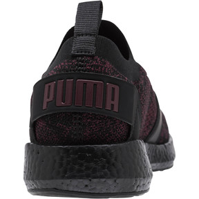 Thumbnail 4 of NRGY Neko Engineer Knit Women's Running Shoes, Puma Black-Fig, medium