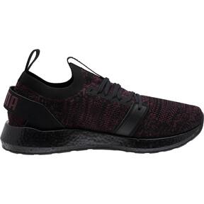 Thumbnail 3 of NRGY Neko Engineer Knit Women's Running Shoes, Puma Black-Fig, medium