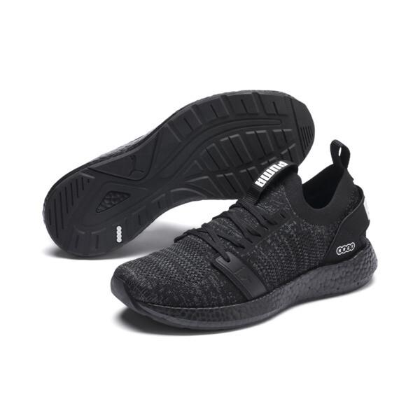 Zapatos para correr NRGY Neko Engineer Knit para mujer, Puma Black-Puma Black, grande