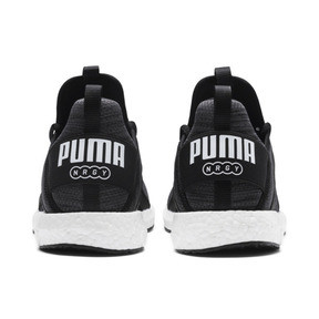 Thumbnail 4 of Mega NRGY Heather Knit Men's Running Shoes, Puma Black-Iron Gate-White, medium