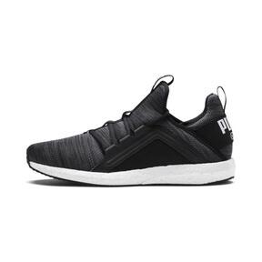 Thumbnail 1 of Mega NRGY Heather Knit Men's Running Shoes, Puma Black-Iron Gate-White, medium