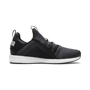 Thumbnail 5 of Mega NRGY Heather Knit Men's Running Shoes, Puma Black-Iron Gate-White, medium